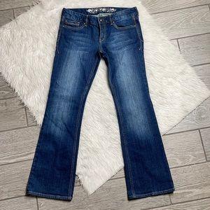 Express Stella Low RisBootcut Regular Jeans 4S